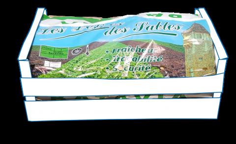 Garnitures / Papiers Salades avec macro-perforations